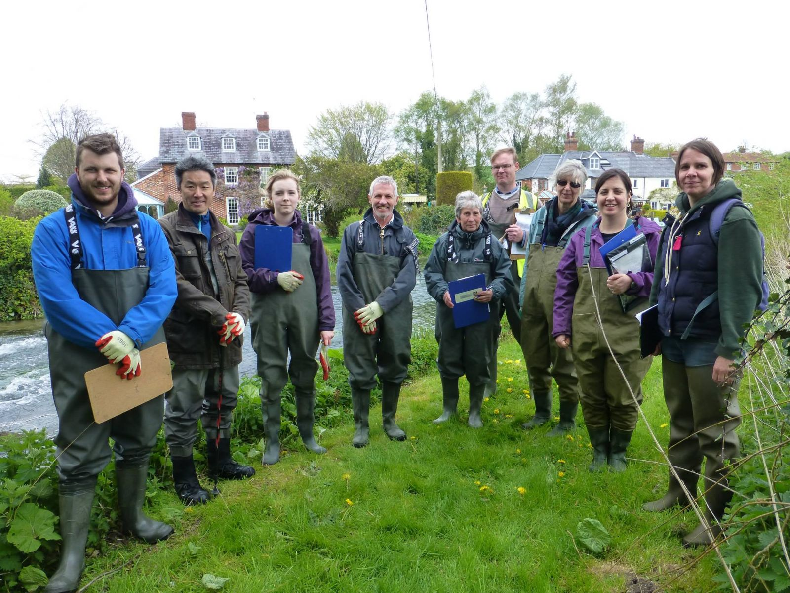 water vole surveyors